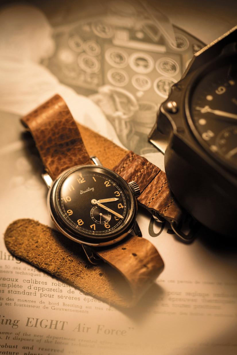 Historische Breitling Reference 768 bei Juwelier Hungeling
