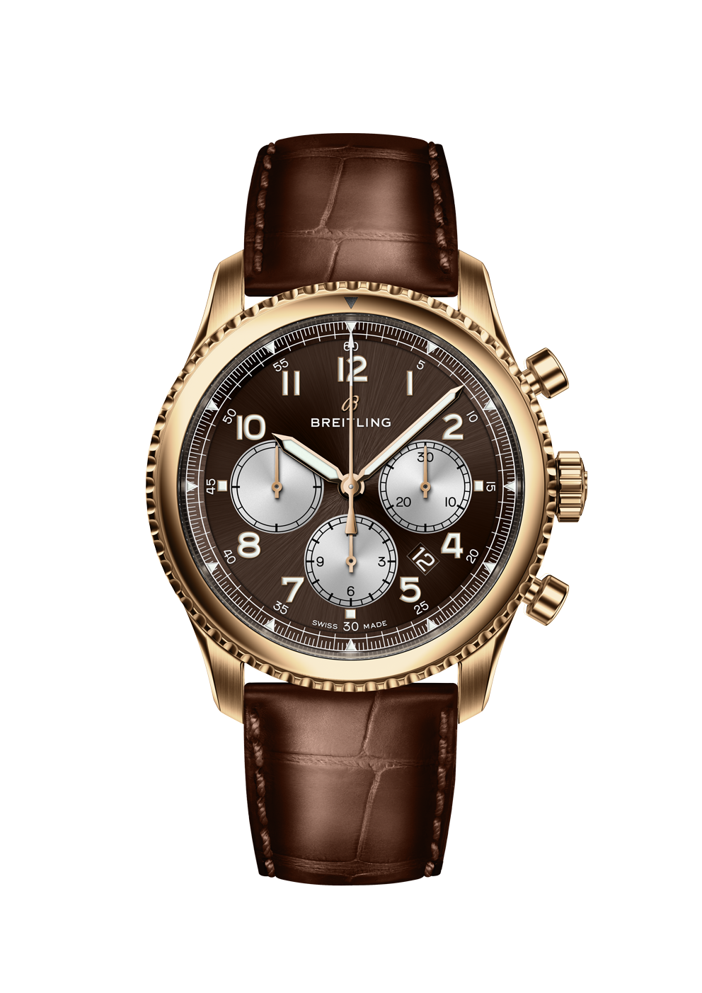 Breitling Navitimer 8 B01 in Rotgold bei Juwelier Hungeling
