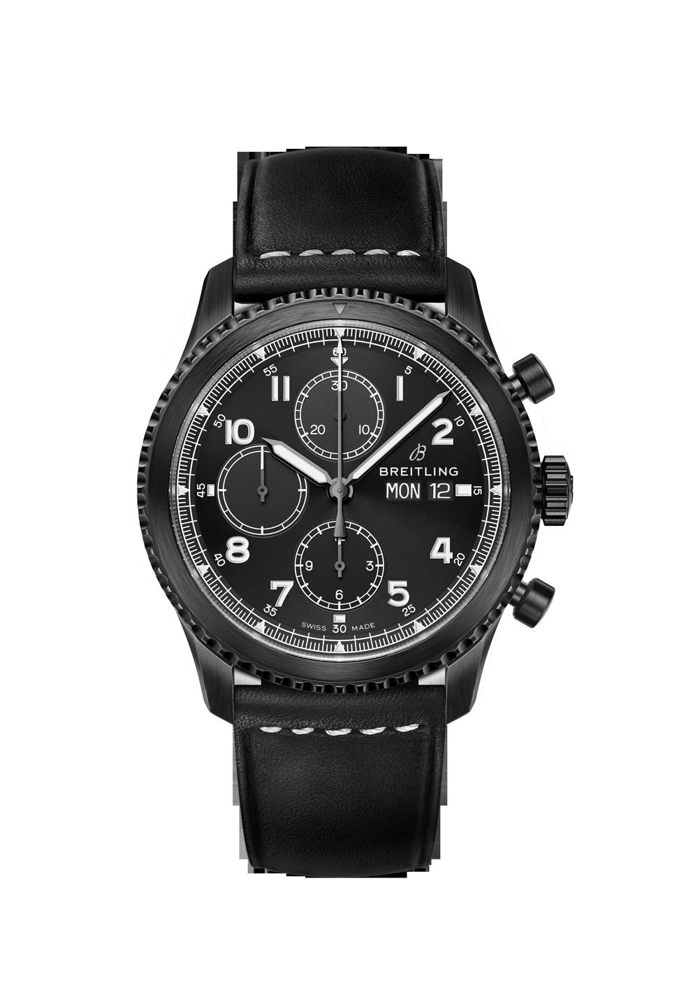 Breitling Navitimer 8 Chronograph Blacksteel bei Juwelier Hungeling